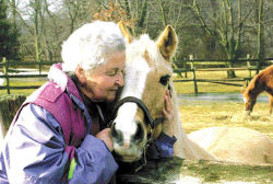 Barbara Isaacs and Calvin Pony