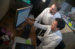 Researchers at the Gluck Center