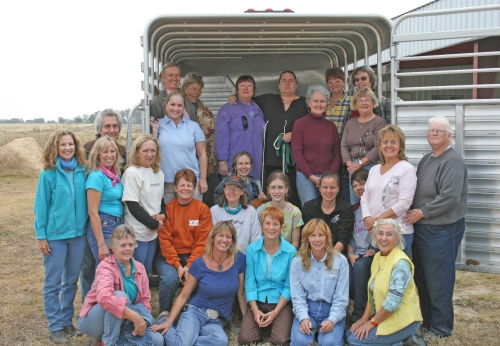 T.T.E.A.M. Training participants in San Marcos, Texas, September 2007