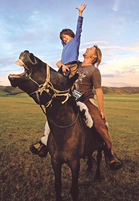 Horseboy Rowan in Mongolia