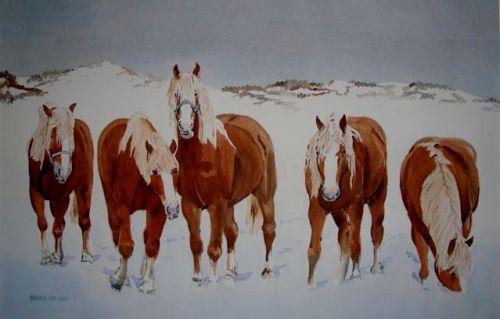 Watercolor by Brenda Cretney