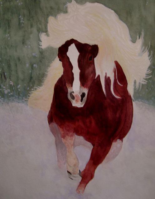 Watercolor by Sandy Clark