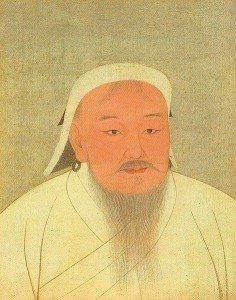 Genghis Khan, from National Palace Museum in Taipei