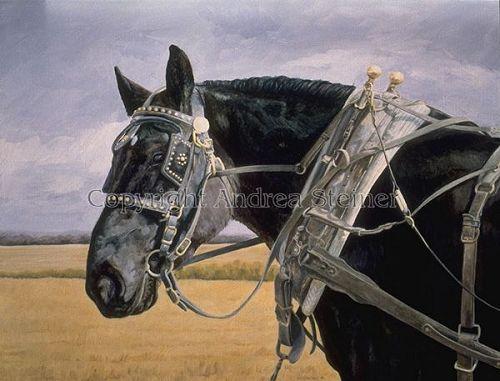 """Andrea Harman Steiner """"Power House"""" oil on linen, 18x24, $2300"""