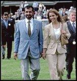 The Sheikh and Princess Haya of Jordan